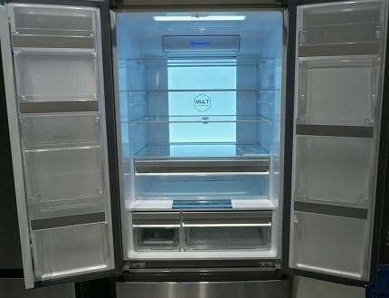 Haier refrigerator interior