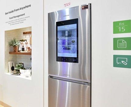 Samsung ledusskapis ar apakšējo saldētavu