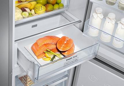 Autonoma svaiguma zona Samsung ledusskapī
