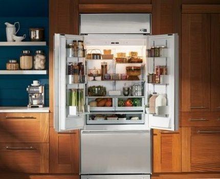 Sānu ledusskapis