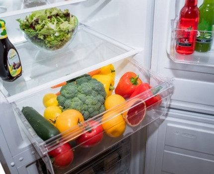 Produkti ledusskapī Nord