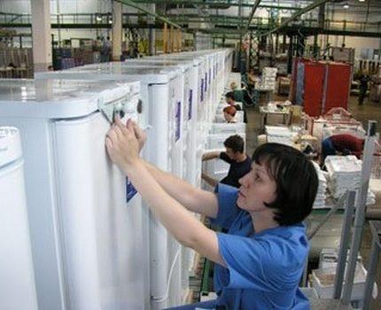 Ledusskapju montāžas veikals Lipetskā