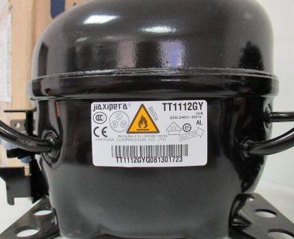 Ledusskapja kompresors