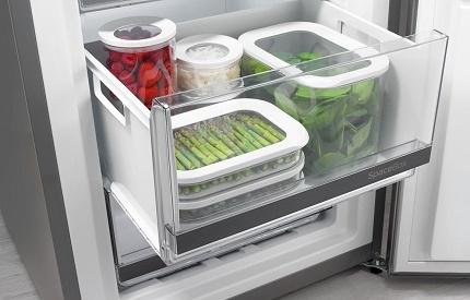 Svaiguma zona ledusskapja nodalījumā