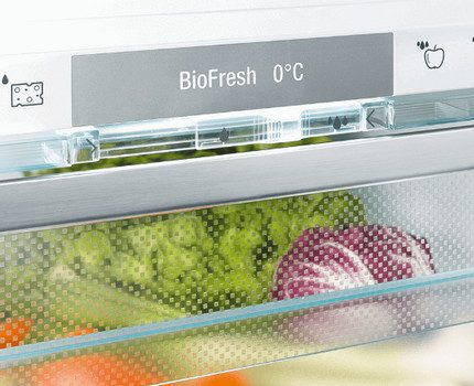 BioFresh funkcija Liebher ledusskapī