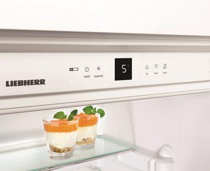 SuperCool tehnoloģija Liebher ledusskapī