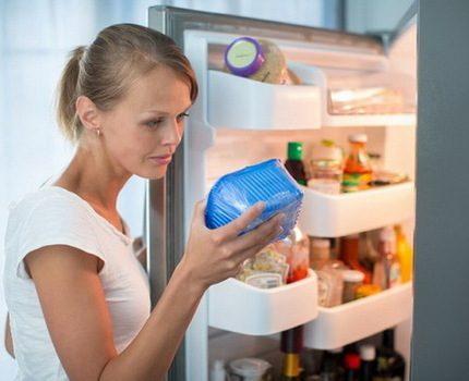 Pungent food storage