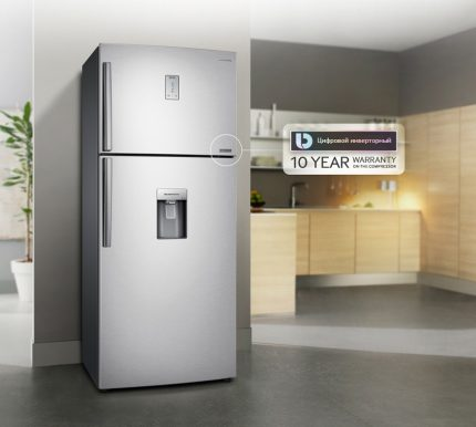 Garantija invertora ledusskapjiem