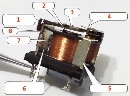 Conception de relais électromagnétique