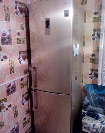 GA B489 modelis lietotāja virtuvē