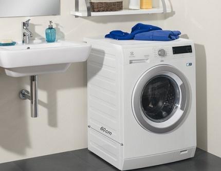 Frontal washing machines