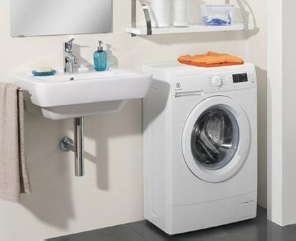 Super Narrow Electrolux Washing Machine