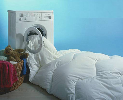 Capacious drum washing machine
