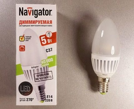 Marking Dimmable Lamp