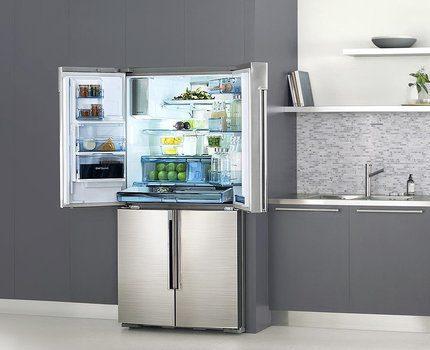 Samsung daudzdurvju ledusskapis