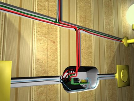 Mounting a dimmer switch