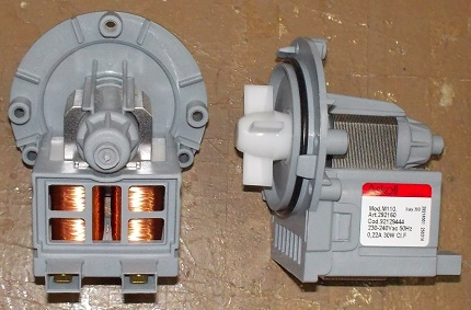 Dryer washing pump