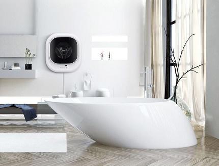 The main disadvantage of a wall-mounted washing machine