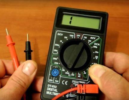 Multimeter for machine diagnostics