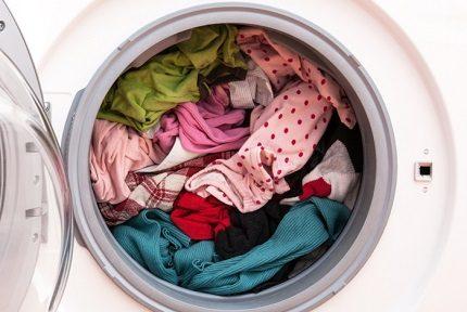 Crowded washer