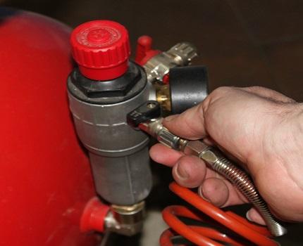 Pressure Switch Repair