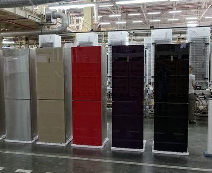 A number of refrigerators