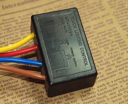 Interrupteur à capteur tactile
