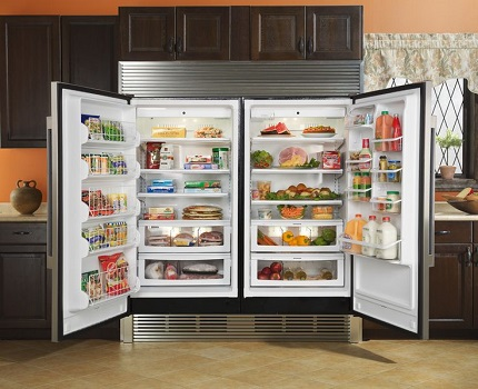 Useful space of the refrigerator