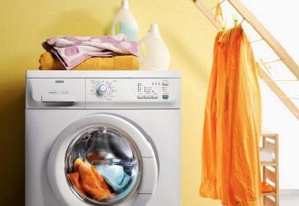 Bio-phase in Zanussi washers