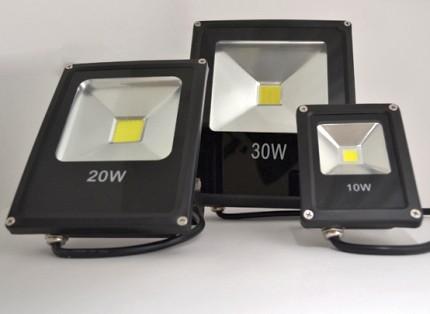 LED spotlights of various power