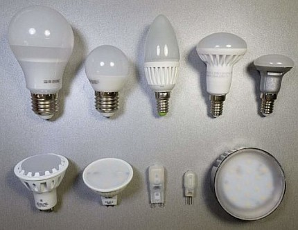 Types of LED lamp designs