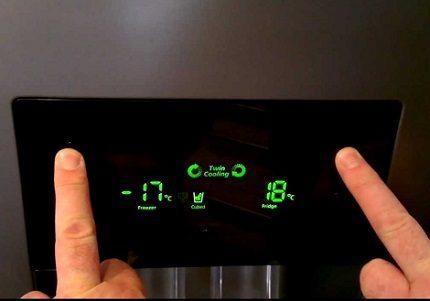 Precīza temperatūras iestatīšana