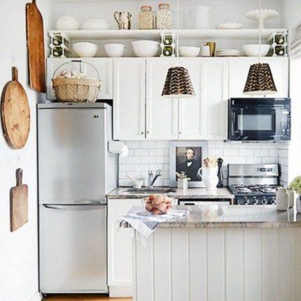 Placement correct dans une petite cuisine