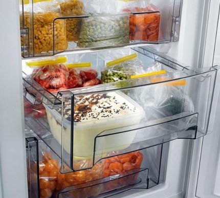 Zone de fraîcheur dans le réfrigérateur