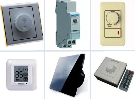 Types of Dimmers