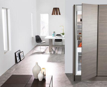 Built-in refrigerator ART 6502 A +