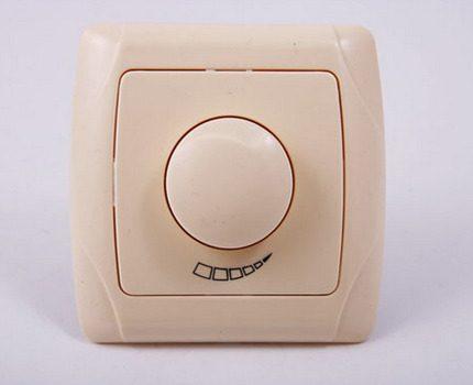 Wireless dimmer switch