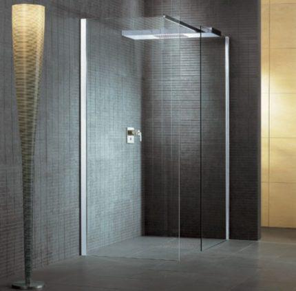Design av en modern dusch