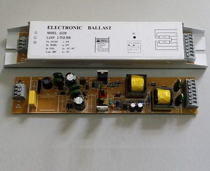 Budget electronic ballast