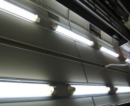Indoor fluorescent lamps