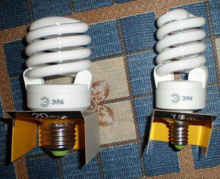 Energy-saving lamps era