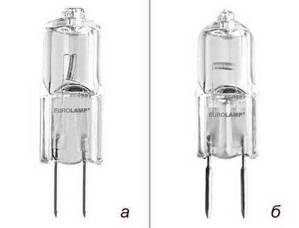 Halogen capsule lamp