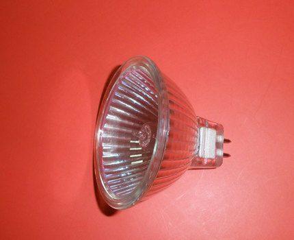 Halogen reflex lamp G4