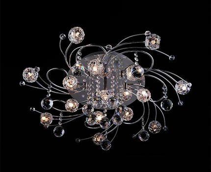 Halogen chandelier