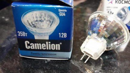 Halogen Camelion Lamps