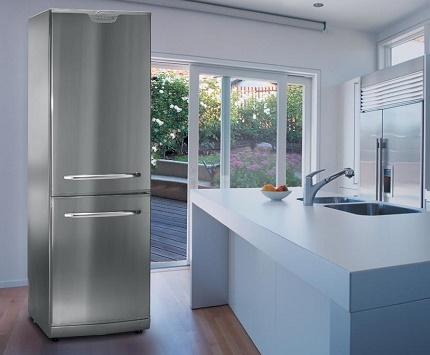 An abundant assortment of domestic refrigerators