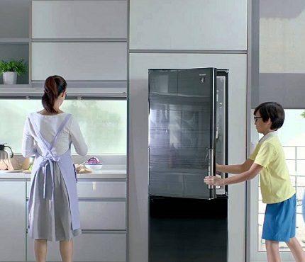 Asie ledusskapju modeļi