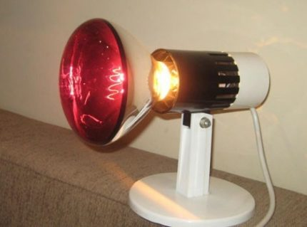 Infrared lamp device
