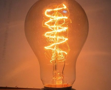 Simulated incandescent bulbs