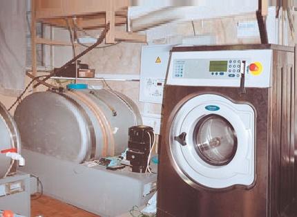 Test de l'unité de lavage